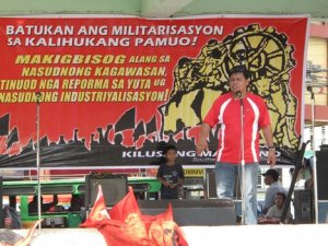 Labor Day rally