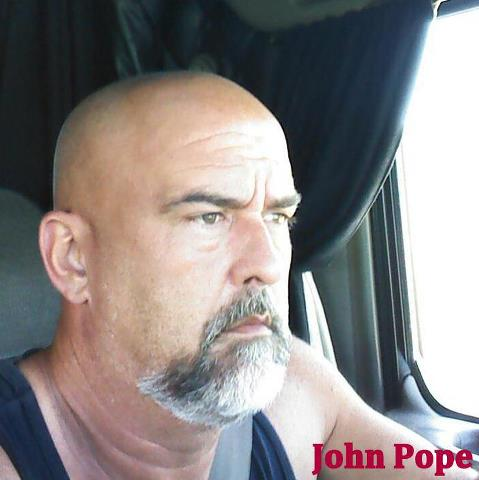 John Pope, the gunman who later gunned down by the police.