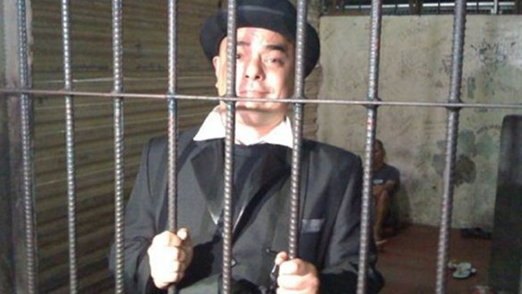 "Carlos Celdran may face a prison term with a maximum of 1 year+ after a Manila court found him guilty of ""offending religious feelings"". (Courtesy of Carlos Celdran's Facebook)"