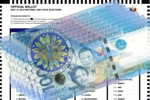 For COMELEC, MONEY IS EVUL!
